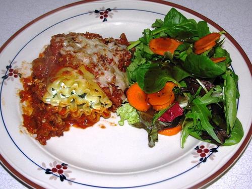 Weight Watchers Lasagna Rolls