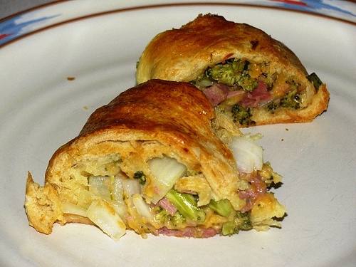 Ham and Broccoli Ring
