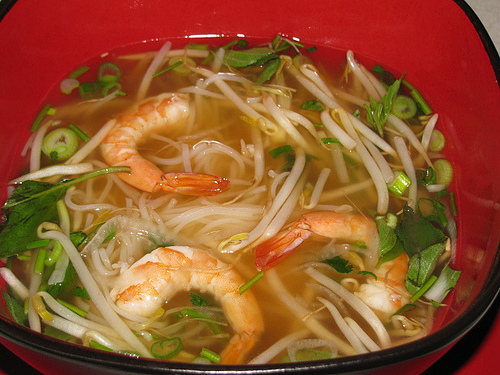 Saigon Noodle House Shrimp Pho