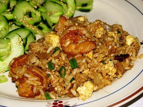 Gina's Shrimp Fried Rice